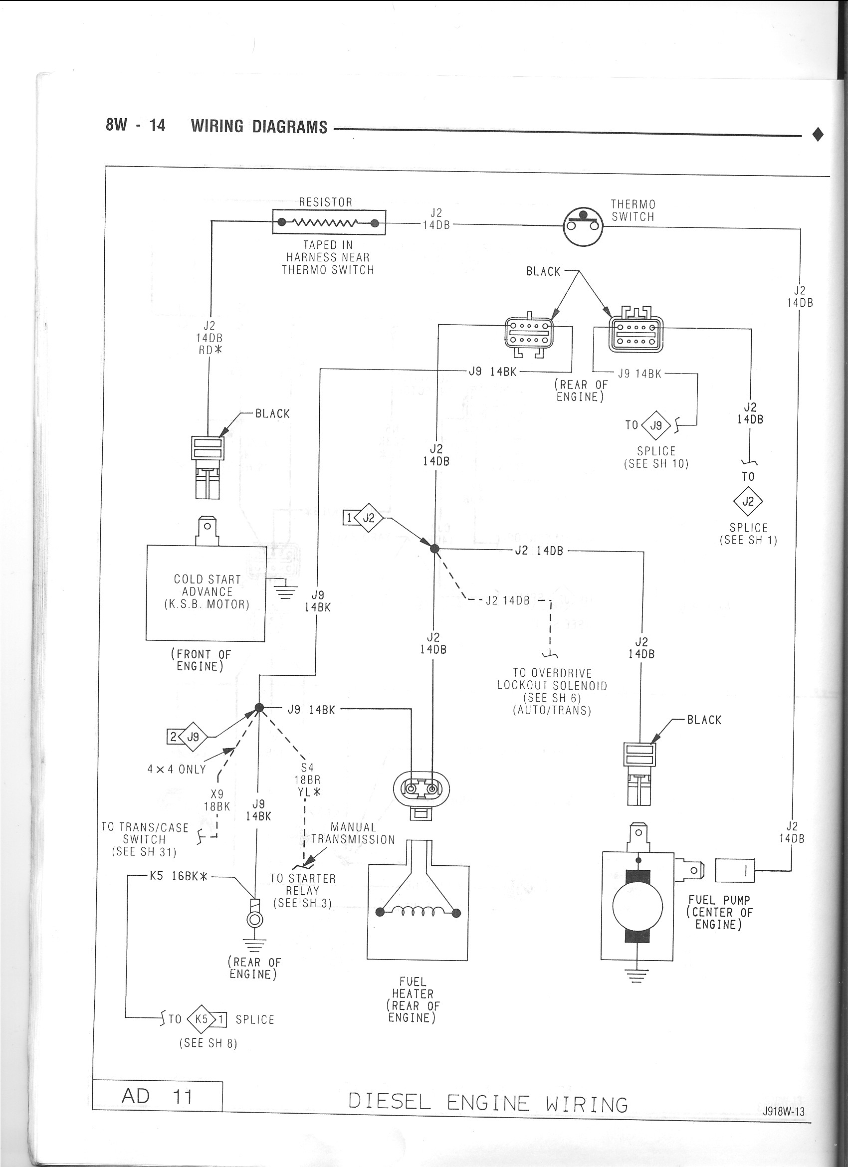 1991 dodge pickup wiring diagram 1stgen.org • view topic - another non-ic ksb question