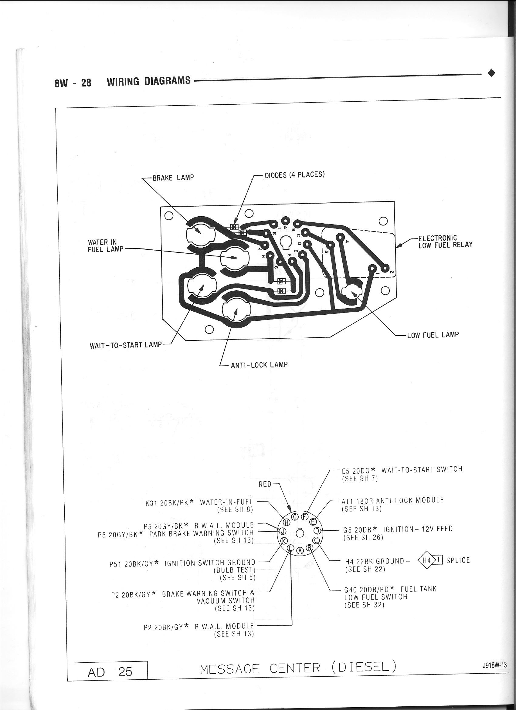 91 5 Diesel Supplement Wiring Diagram Needed