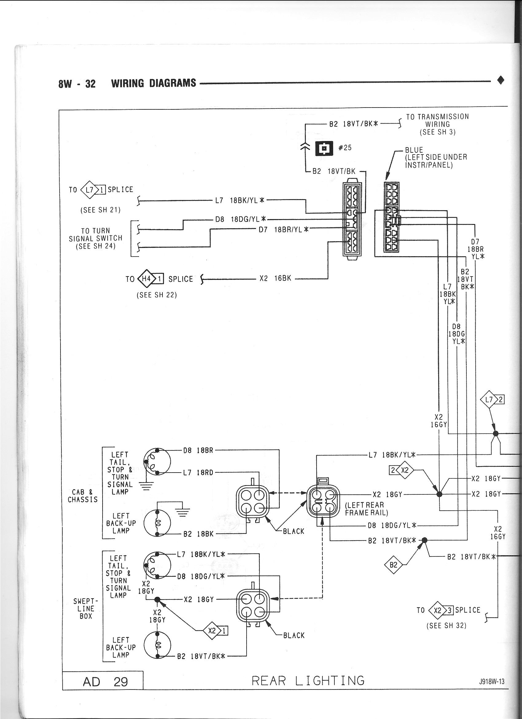 1991 dodge van wiring diagram tail light wiring diagram? - dodge cummins diesel forum
